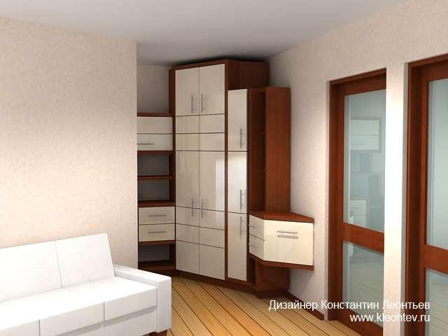 3Д визуализация шкафа