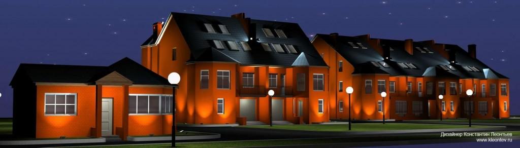 Трехмерная визуализация фасадов