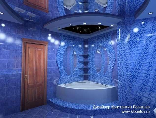 3Д вид ванной комнаты