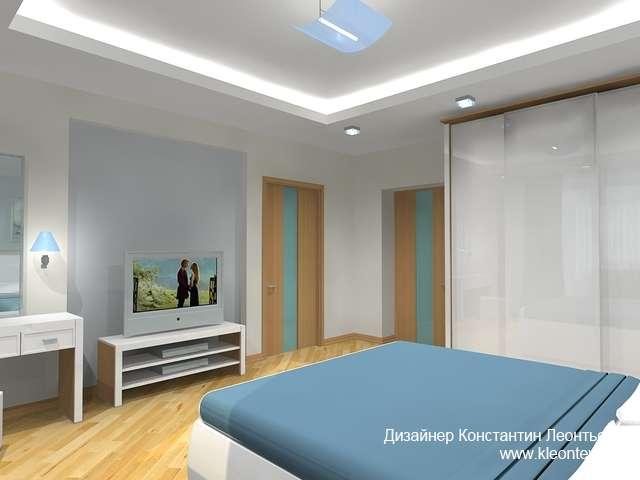 3Д вид спальни