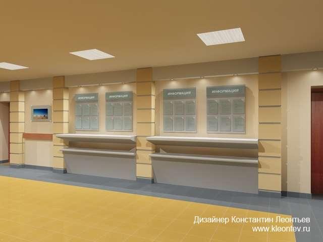 3д визуализация стендов в банке