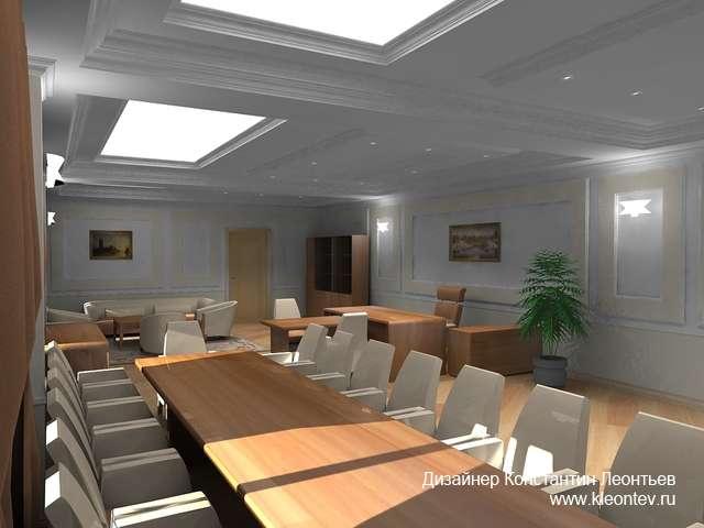 Дизайн интерьера офиса банка в Казани