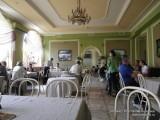 """В кафе """"Парки"""", Пушкин"""