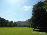 Михайловский парк вид на Русский музей, Санкт-Петербург