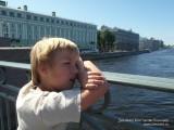 Данилка на Троицком мосту