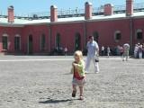 Таисена в Петропавловской крепости