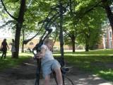 Стульчики в Петропавловской крепости