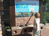 Данилка осваивает питерский зоопарк
