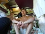 Папа в поезде тоже не скучает