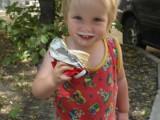 Таисена вся в мороженом
