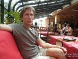 В ресторане Патио Пицца у Храма Христа Спасителя