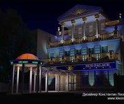 Дизайн-проект оформления фасада казино