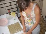 Процесс приготовления суши