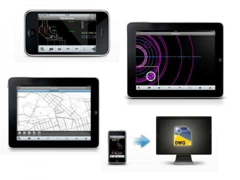 AutoCAD для Mac и AutoCAD WS для iPad и iPhone