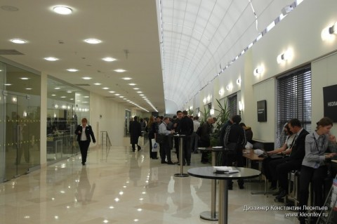 Autodesk forum 2010: холл отеля Holyday Inn Сокольники