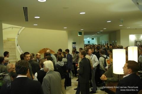 Autodesk forum 2010: очередь за подарками