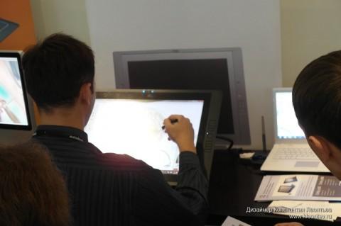 Autodesk forum 2010: планшет Wacom