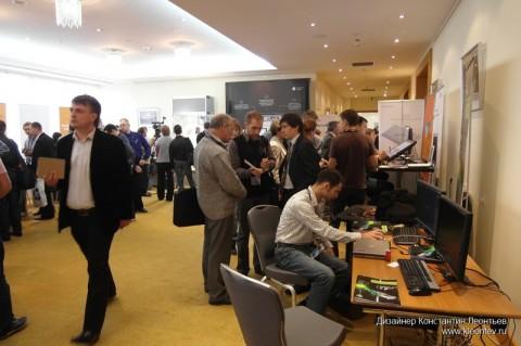 Autodesk forum 2010: демонстрация видеокарт nVidia
