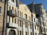 Дом оригинальной стилистики в центре Москвы