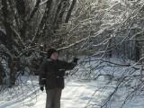 Данил в ледяном лесу