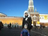 Настя и Таисена на Красной площади