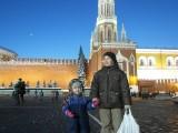 Данил и Таисена на Красной площади