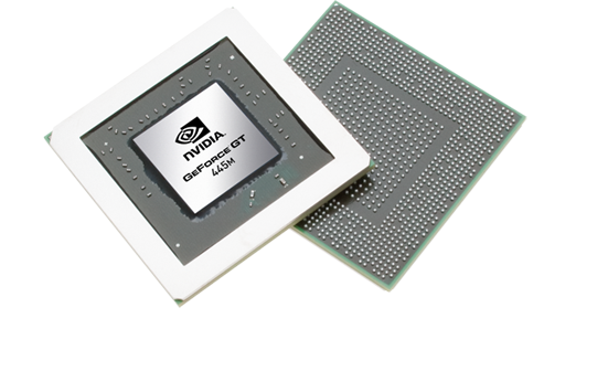Мобильная видеокарта nVidia GeForce GT 445M