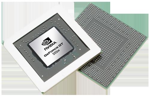 Мобильная видеокарта nVidia GeForce GT 555M