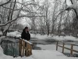 Автопортрет на Голубом озере