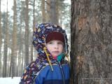Портрет у дерева