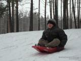 Данилка на ледянках