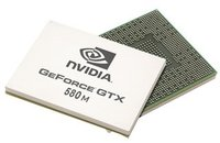 Мобильная видеокарта nVidia GeForce GTX 580M