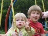 Фото дети на качелях