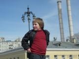 Фото мальчика на Патриаршем мосту