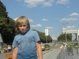 Мальчик в парке горького