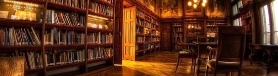 Фотография интерьера зала библиотеки