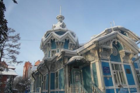Сказочный терем на Красноармейской улице