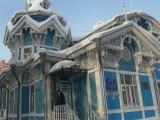 Резной домик на Красноармейской улице