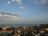 Вид на вечернюю Алушту