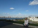 Вид на Казань с кремлевского холма