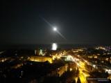 Луна над морем и Алуштой