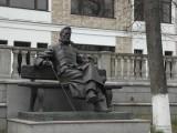 Бронзовый Чехов на лавке
