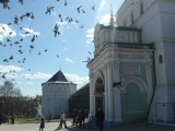 Голуби у монастыря
