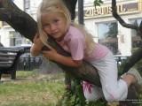 Девочка на дереве