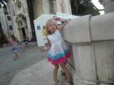 Фонтан у церкви Архангела Михаила