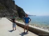 Дорожка на пляж в Каменево