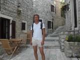 Во дворе какой-то гостиницы