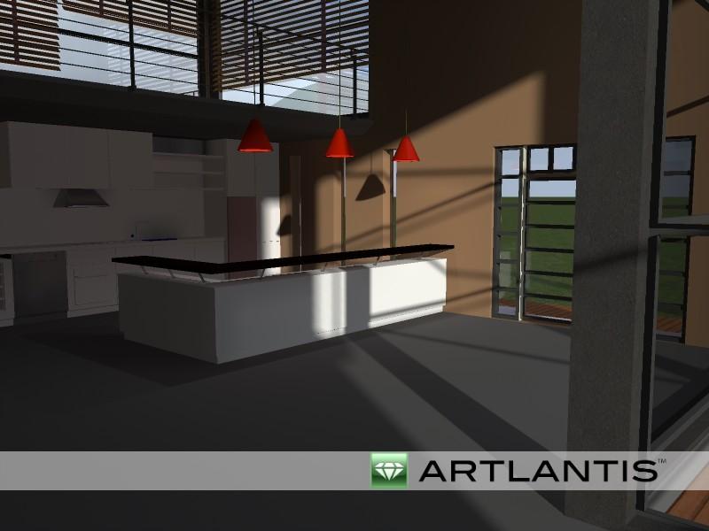 Результат рендера в Artlantis 5