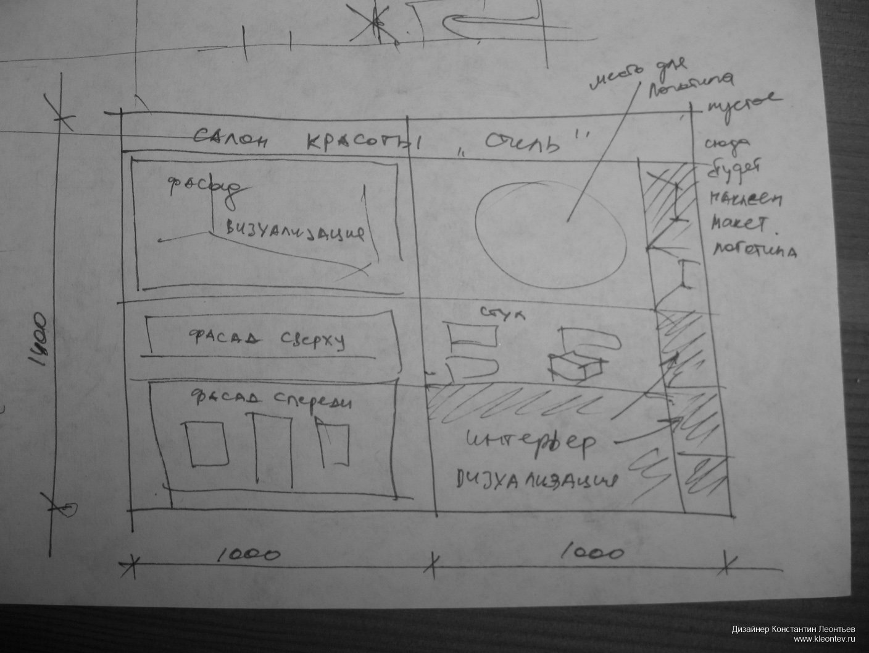 Курсовая работа этапы проектирования Портфолио eskiz plansheta