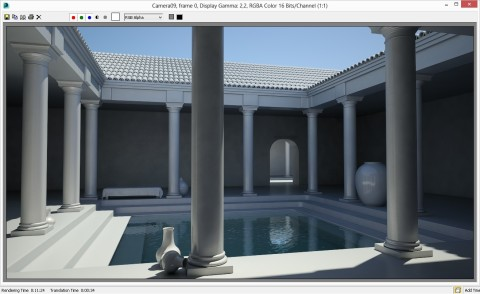 GS70 3ds Max Mental Ray test